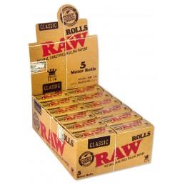 RAW CLASSIC ROLLS 5M X24 STK