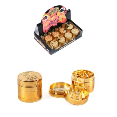 METAL GRINDER GOLD - 40MM -...