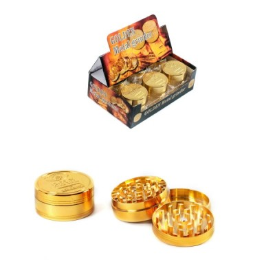 METAL GRINDER GOLD - 50MM -...