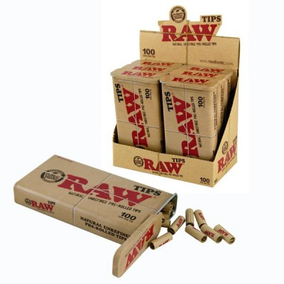 RAW PREROLLED TIPS IN A BOX...