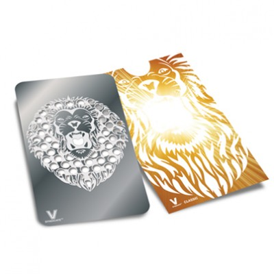 GRINDER CARD GOLD LION