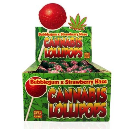 CANNABIS LOLLIPOPS...