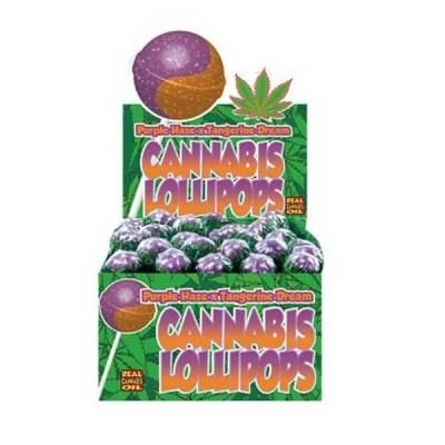 CANNABIS LOLLIPOPS PURPLE...