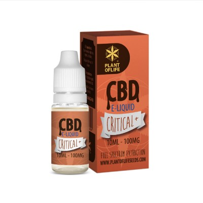 E-LIQUID CRITICAL+ CBD 1 %...