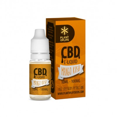 E-LIQUID MANGO CBD 1 % 10ml