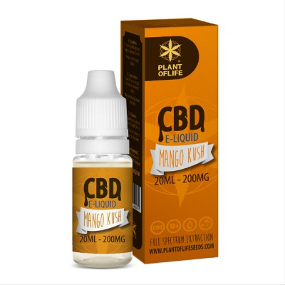 E-LIQUID CBD 1% MANGO 20ML