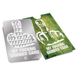GRINDER CARD MY FUCKING...