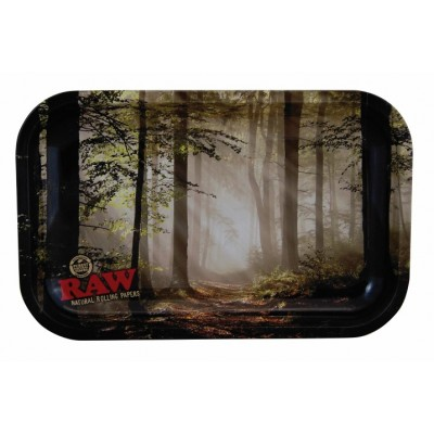 RAW TRAY METAL FOREST SMALL