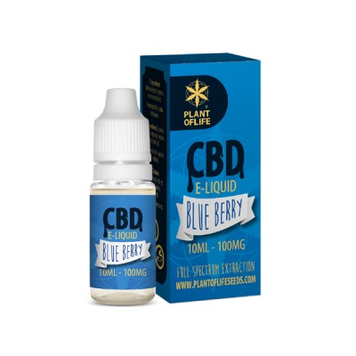 E-LIQUID CBD 1% BLUEBERRY...